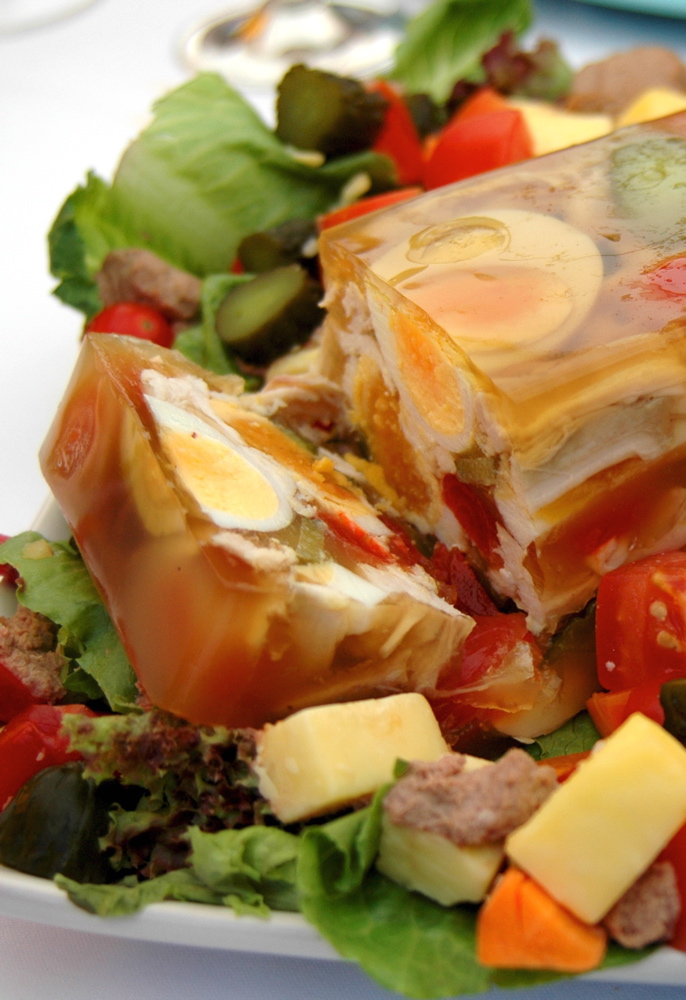 aspic-with-eggs